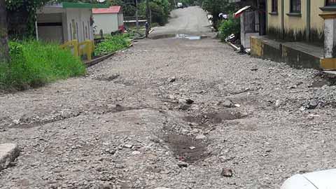 Deja Abandonadas Obras la SCT en la Frontera Sur