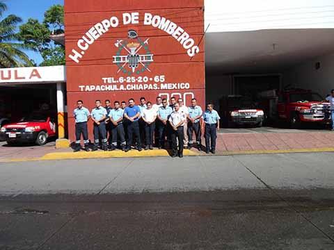 Reconocen Labor del Honorable Cuerpo de Bomberos en su Día