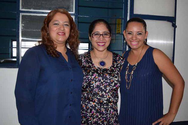 Erika López, Valeria Ambrosio, Carolina Ruiz.
