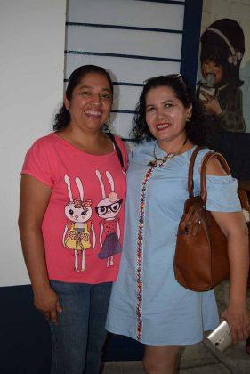 Lorena Gálvez, Mayra Pérez.