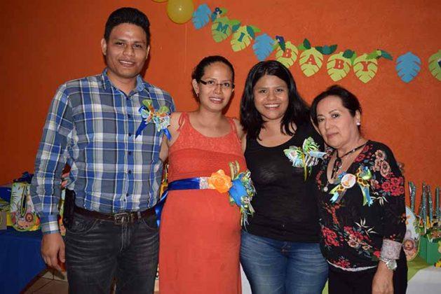 Javier, Soledad, Tania, Tere Farrera.
