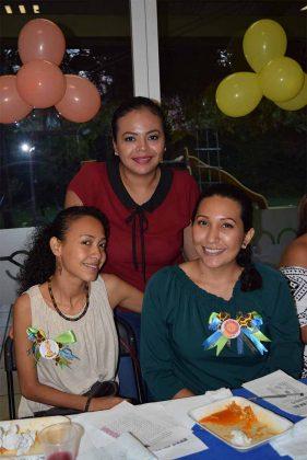 Laura Alvarado, Lucia Ortiz, Lorena Villatoro.