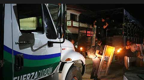 Despliegan Comandos Policíacos en Zona Rural y Diversas Colonias de Tapachula