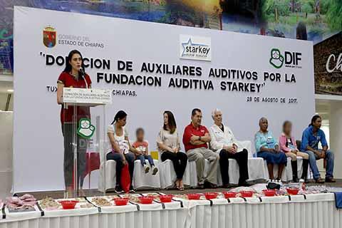 DIF Chiapas y Fundación Starkey Benefician a Personas con Discapacidad Auditiva