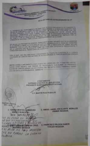 Por Irregularidades Financieras del Alcalde Ruiz Rosales, Debe Intervenir Contraloría del Congreso