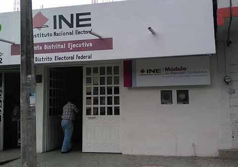 INE Imparte Conferencia Sobre Nueva Distritación Local y Federal