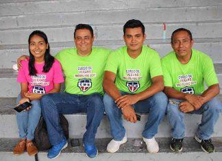 Lucy Argüello, Rodolfo Ulloa, Jorge Escobar, Julio Díaz.