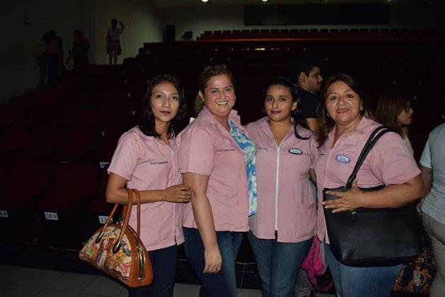 Georgina Muñoz, Luisa Rodas, Norma Hilerio, Adriana Méndez.