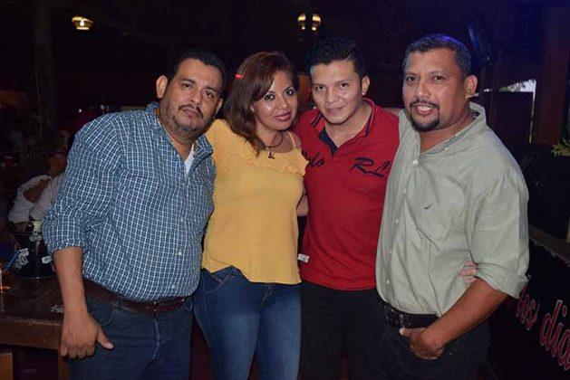 Ernesto Mendoza, Eve Alvarado, Juan Alvarado, Sergio Rodríguez.