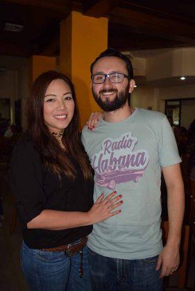 Alejandra Martínez, Christopher Vázquez.