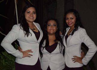 Mariana Campos, Susana Espinosa, Brenda Cárdenas.