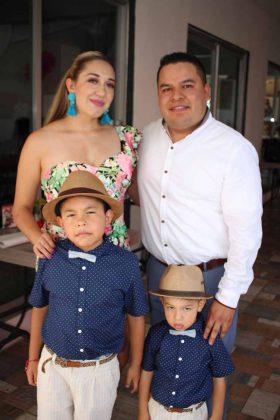 Familia Olivares Barrera.