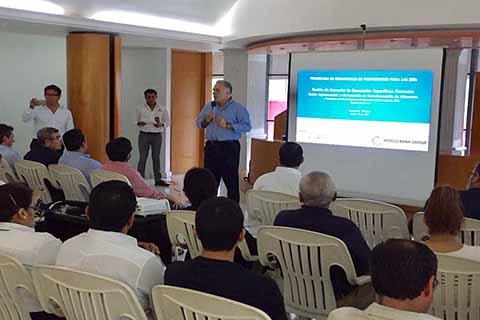 Empresarios Participan en Taller de Identificación de Proveedores Para la ZEE en Puerto Chiapas