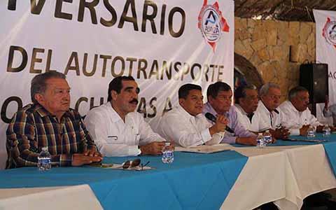 Transportistas Conocen Beneficios y Avances de la Zona Económica Especial en Puerto Chiapas