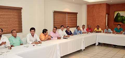 El presidente del Congreso Local, escuchó las principales necesidades y demandas del sector, para ser un portavoz y llevar las peticiones a las autoridades competentes.