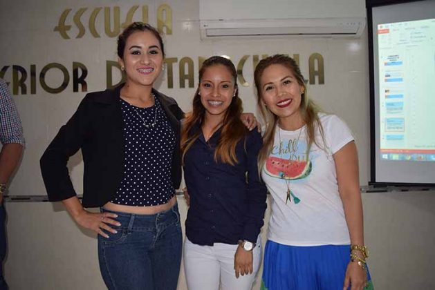 Siu Hau, Yohana Laparra, Carla Martínez.