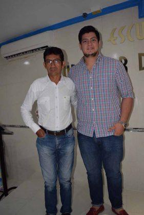 Leobardo Morales, Rafael López.