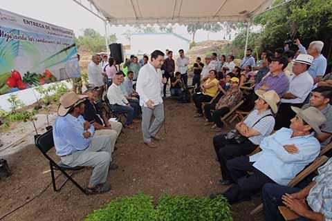 Ayuntamiento de Tuxtla Impulsa Proyectos Productivos Para el Campo