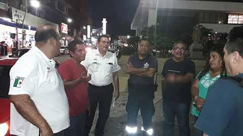 """Supervisan Área Donde Ubicarán la Feria """"San Agustín"""""""