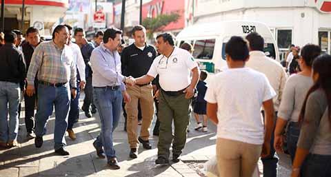Dimos un Paso Adelante Liberando el Centro del Ambulantaje: Fernando Castellanos