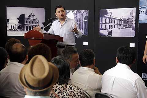 Con Fotografías y Objetos Recuerda el Ayuntamiento los 125 años de Tuxtla Como Capital de Chiapas