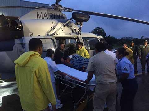 Se Desploma Helicóptero en Puerto Madero