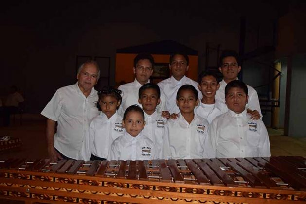 Marimba infantil, Casa de Cultura Tuxtla Chico.