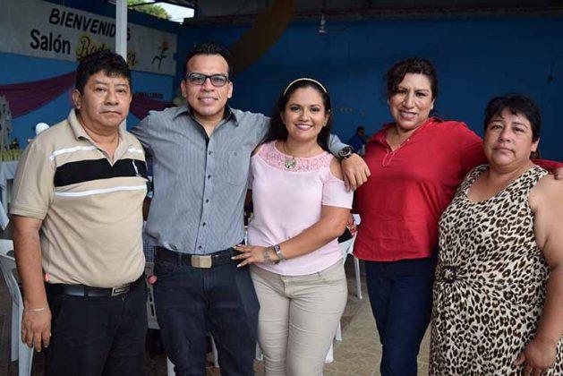 Familia Vázquez Rosas.