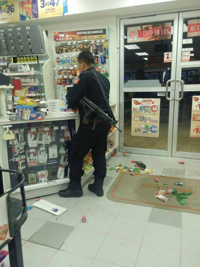 Saquean Tienda en Cuestión de Minutos