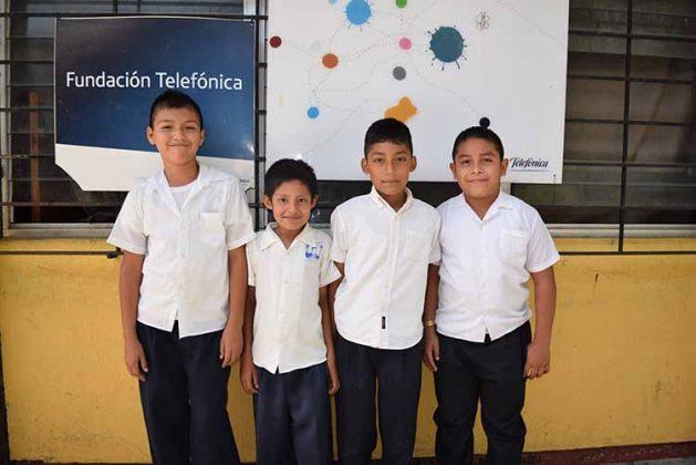 Irvin Maldonado, Oscar Francisco, Miguel Trujillo, Angel Roblero.