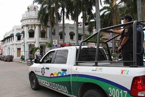 Policías Estatales Retornan al Centro del Estado