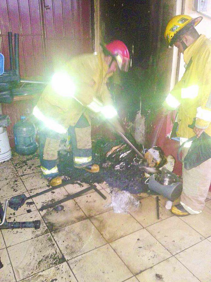 Causa Alarma Conato de Incendio