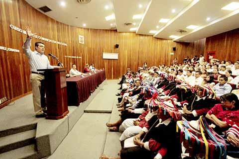 Un Poder Judicial Unido Para Beneficiar a la Sociedad: Rutilio Escandón