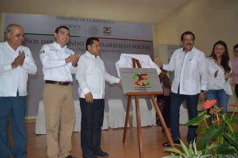 Celebran 25 Aniversario de la SEDESOL Chiapas