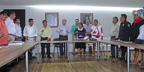 Mediante Mesa de Diálogo Avanza la Paz Entre Aldama y Chenahló