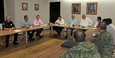 Chiapas redobla esfuerzos para mantener seguridad.