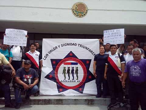 Los agentes municipales reclaman al ayuntamiento los recursos para patrullas, chalecos antibalas, cascos, además del incremento salarial y los estímulos en efectivo del programa FORTASEG.