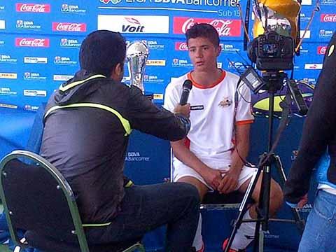 Los Frutos de la Escuela Futbol Tapachula