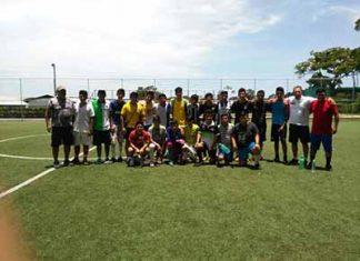 Actividad en Escuela Municipal de Futbol de Cacahoatán