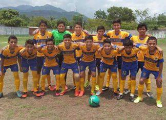 CF Tigrillos Contra Suchiate en la Final de la Sub 14