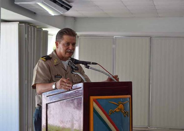 G.B.D.E.M. Comandante de la 36a Zona Militar: Jens Pedro Lohmann Iturburo.