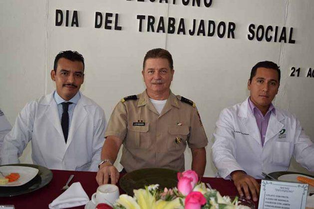 Francisco Camas, Jens Pedro Lohmann, Juan Espinosa.