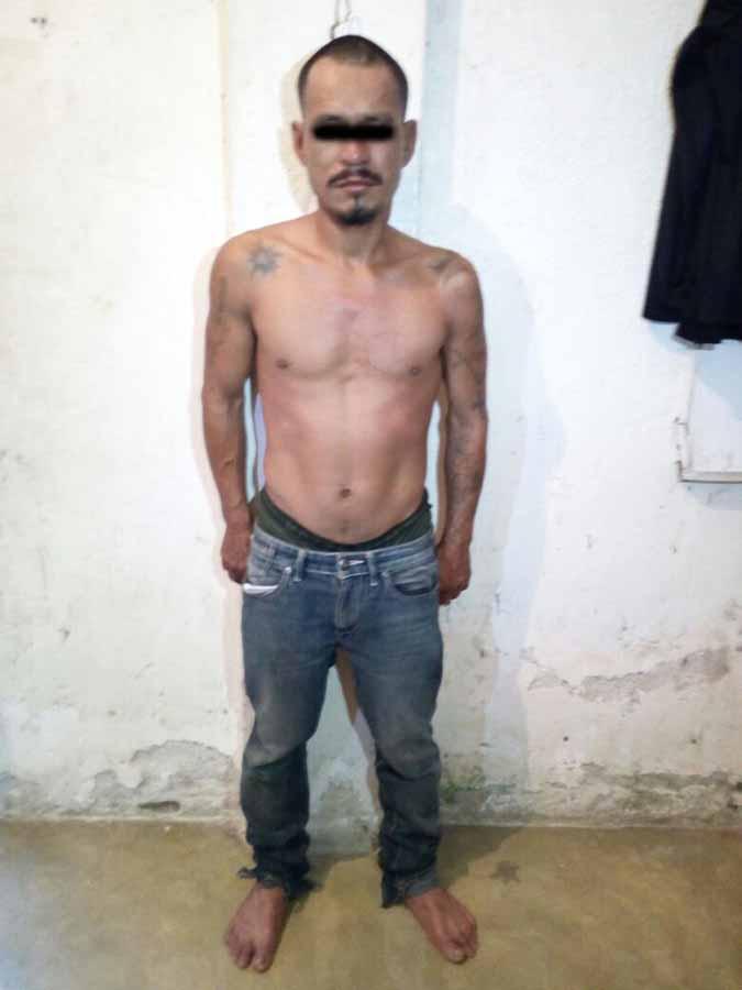 Detienen a Presunto Violador con Droga