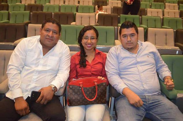 Alberto Cruz, Karen Ruiz, Luis Antonio Díaz.
