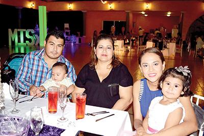 Luis Rasgado, Sebastián Chávez, Patricia Álvarez, Itzel Mateo, Sophia Chávez.
