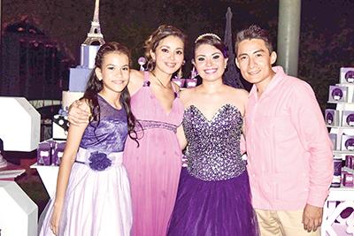 Ximena, Zaira Mendoza, Daniela Alejandra, José Cruz Rodríguez.