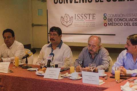 La CECAM y el ISSSTE Firman Convenio de Colaboración Para Corregir Negligencias