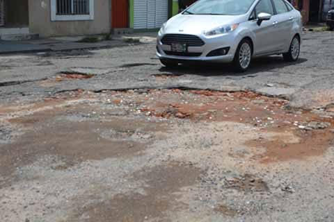 Población Denuncia Calles Intransitables
