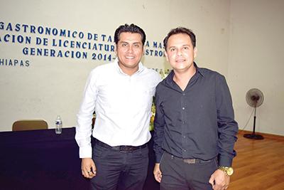 Erik Gutez, Cristian Velamar.