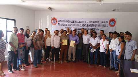 Integran Comité Sindical de Trabajadores de la Construcción